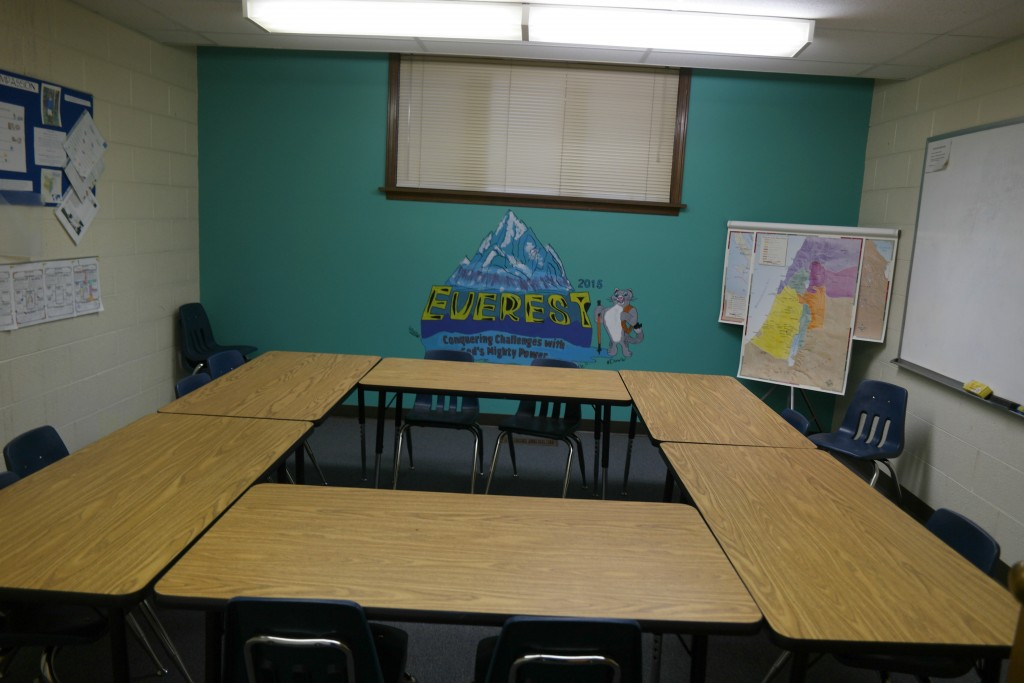 This is one of the Classrooms at Faith Lutheran Church in Okemos, MIchigan