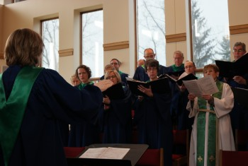Singing God's Glory at Faith Lutheran Church