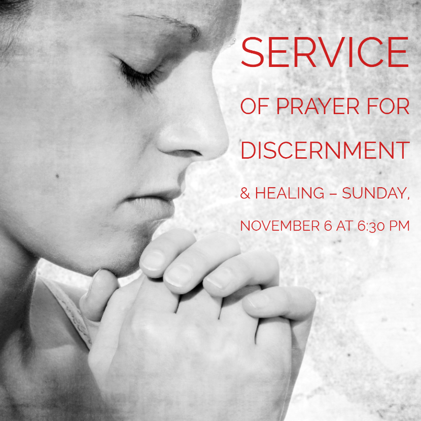 Srrvice of Prayer and Discernment