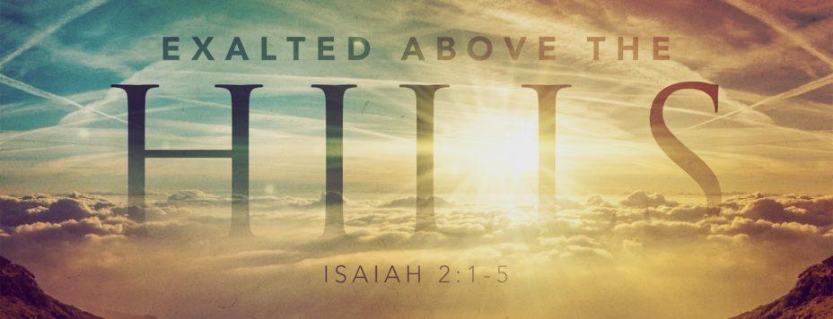 isaiah 2: 1-5