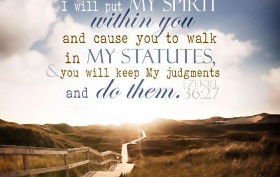 Ezekiel 36:27