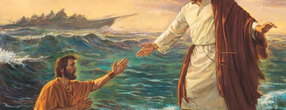 Getting out of the boat with Jesus and going to places where Jesus goes is the most risky, most exciting, and most fulfilling way to live life to the fullest, life that truly matters, life that is abundant. Today's gospel reading invites us to trust God's promises and do just that.