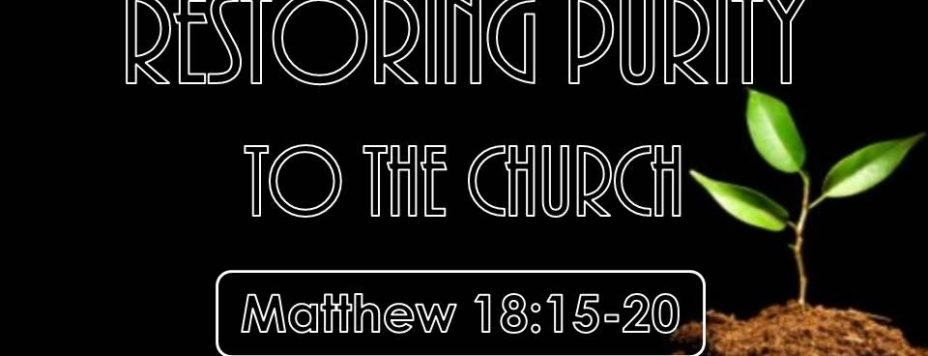 Matthew 18: 15-20